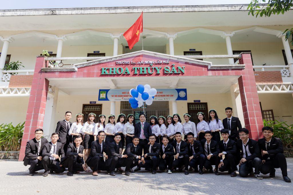 Lớp Quản lý Nguồn lợi Thủy sản K49 Khoa Thủy sản, Trường Đại học Nông Lâm, Đại học Huế